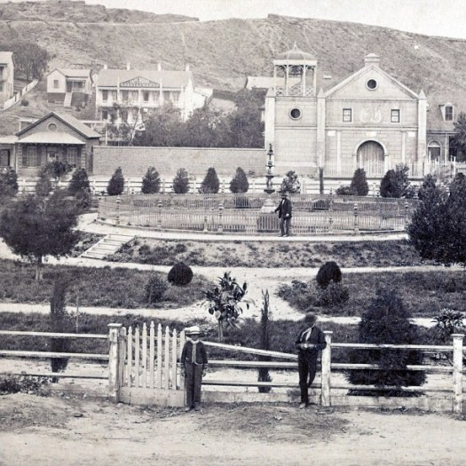 ing - Los Angeles Plaza, Fort Moore Hill, 1880