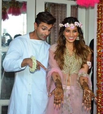 bipasha basu karan singh grover wedding (2)