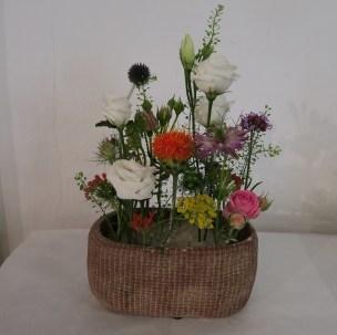 Tischgesteck Wiesenblumen