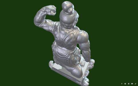 仁王像の3Dデータ