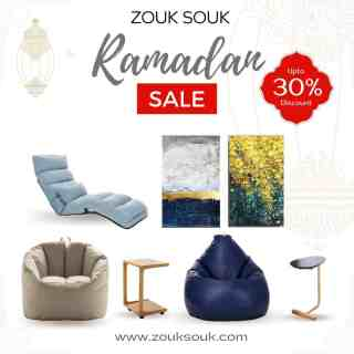 The Great Ramadan Sale is now live up to 30% off on all products. Shop for incredible home decor at incredible prices only at our website - link in bio. Hurry Up NOW!  #YourComfortCompanion #Kuwait #kuwaiti #onlineshopping #Decor #decoration #zouksouk #homedecor #officedecor #ramadansale #RamadanSpecial #beanbag #paintings #recliner #table #armchair #footstool #beanbagchair #sale #onlinesale #shoponline #kuwaitsale  #غرفةمعيشة #غرفطعام #غرفه_نوم #تصميمداخلى #ديكور #ديكوراتخارجية #ديكوراتفخمه #تصميمحدائق