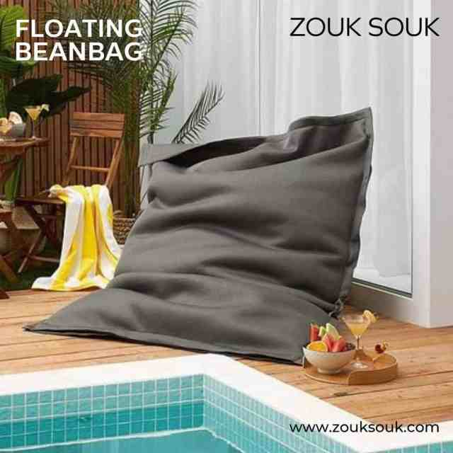 The floating beanbag can be used outdoors as a pool float, by the garden, or for camping trips and can also be used indoors as a relaxing bag. Visit: Link in bio  #YourComfortCompanion #Kuwait #beanbag #kuwaiti #kuwaitcity #onlineshopping #Decor #decoration #zouksouk #homedecor #furniture #furnituredesign #comfort #floatingbeanbag #indoorbeanbag #outdoorbeanbag #Comfy #lightweight #PoolBeanBags #poolside #gardenbeanbag #shopnow  #غرفةمعيشة #غرفطعام #غرفه_نوم #تصميمداخلى #ديكور #ديكوراتخارجية #ديكوراتفخمه #تصميمحدائق