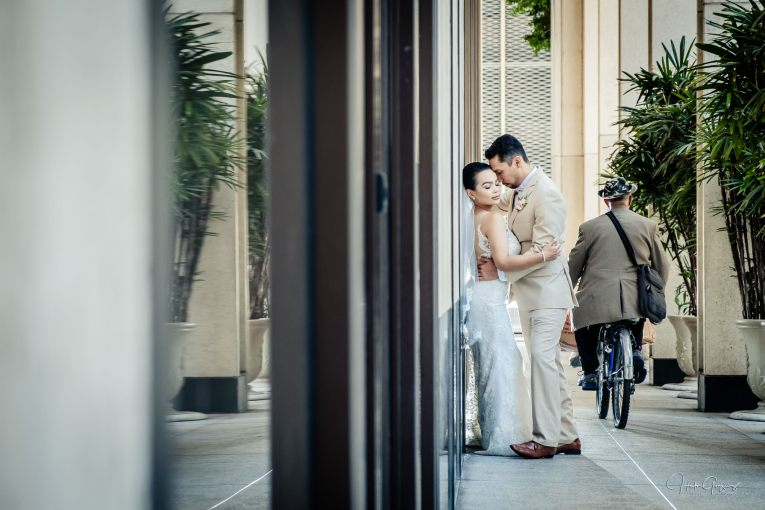 San Diego Courthouse & Westgate Wedding photography