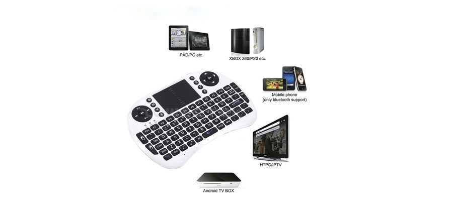 Apply to android TV box, smart TV, tablet pc,ipad,HTPC,etc