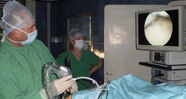 Pierwsze artroskopie w naszym Szpitalu