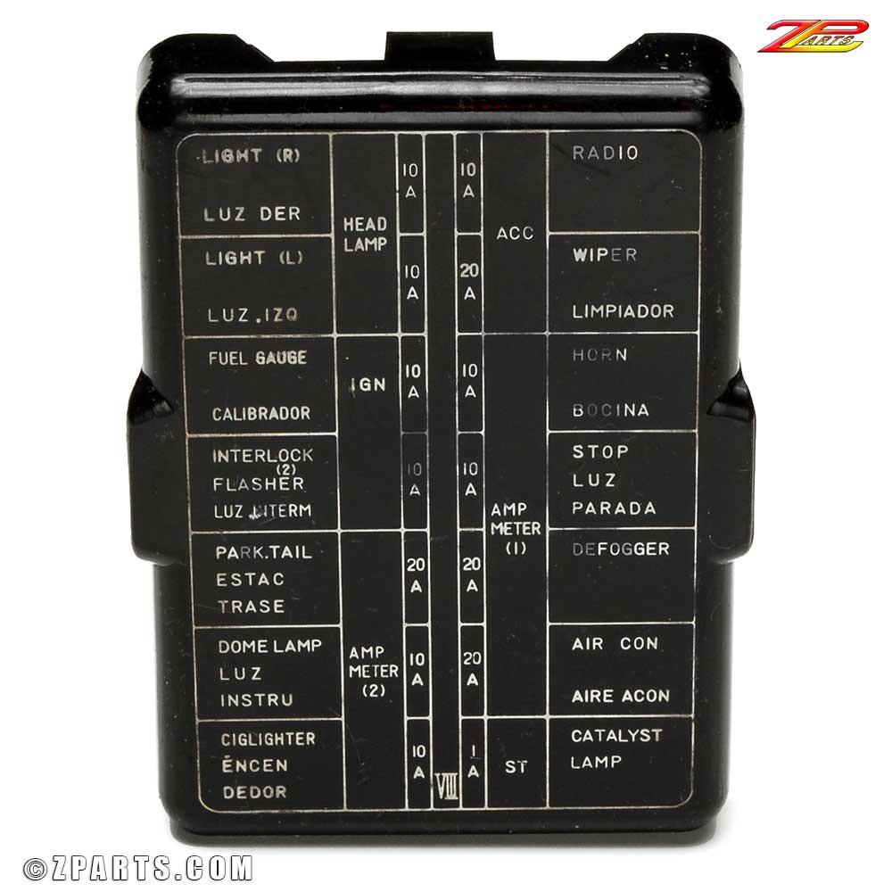medium resolution of 280z engine bay fuse box wiring diagram database 280z fuse box diagram