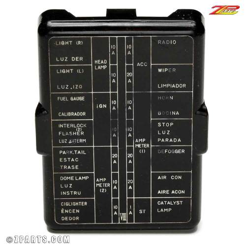 small resolution of 280z engine bay fuse box wiring diagram database 280z fuse box diagram