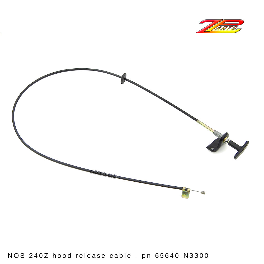 Hood Release Cable, 240Z 65640-N3300