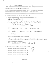 Product Of Two Binomials Worksheet With Answers
