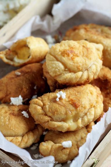 Zdjęcie - SMAŻONE PIEROŻKI SEROWE - Przepisy kulinarne ze zdjęciami