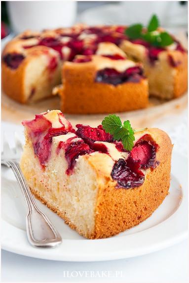 Zdjęcie - Ciasto ucierane z mascarpone - Przepisy kulinarne ze zdjęciami