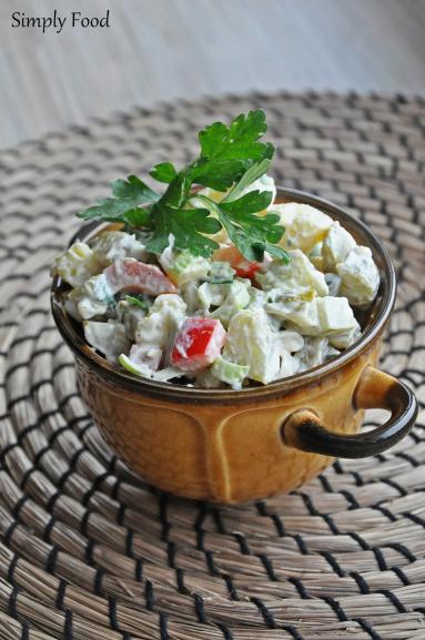 Zdjęcie - Sałatka ziemniaczana - Przepisy kulinarne ze zdjęciami