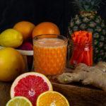 Zdjęcie - Sok wzmacniający odpornośćz imbirem - Przepisy kulinarne ze zdjęciami