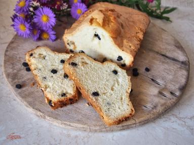 Zdjęcie - Babka budyniowa z suszoną aronią - Przepisy kulinarne ze zdjęciami