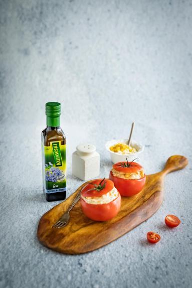 Zdjęcie - Pomidory nadziewane tuńczykiem - Przepisy kulinarne ze zdjęciami
