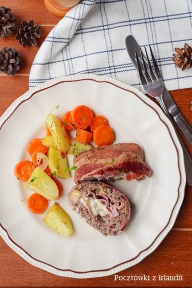 Zdjęcie - Polpettone della nonna, czyli klops po włosku – U stóp Benbulbena - Przepisy kulinarne ze zdjęciami