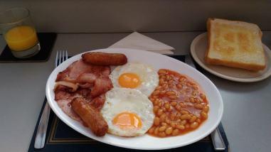 Angielskie śniadanko
