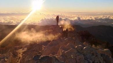 Szczyt wulkanu Teide