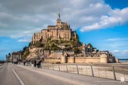 Mont Saint-Michel - Francja