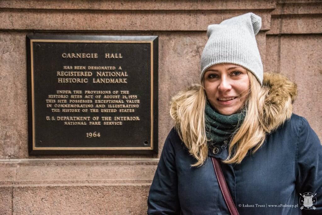 Carnegie Hall - Środkowy Manhattan - Nowy Jork