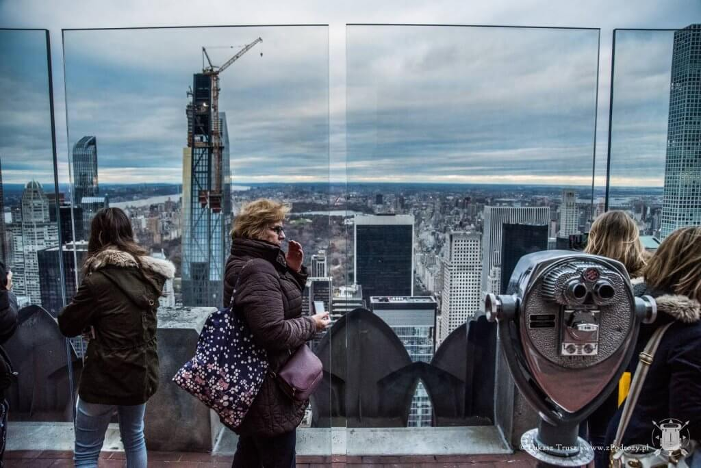 Top Of The Rock - Środkowy Manhattan - Nowy Jork