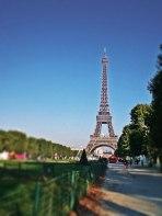 Eiffelova věž, Paříž, Francie; Lucka Kenkušová, E