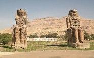 Memnonovy kolosy, Egypt; Lucka Kenkušová, E