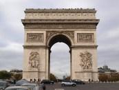Vítězný oblouk, Paříž, Francie; Fanda Deckert, E