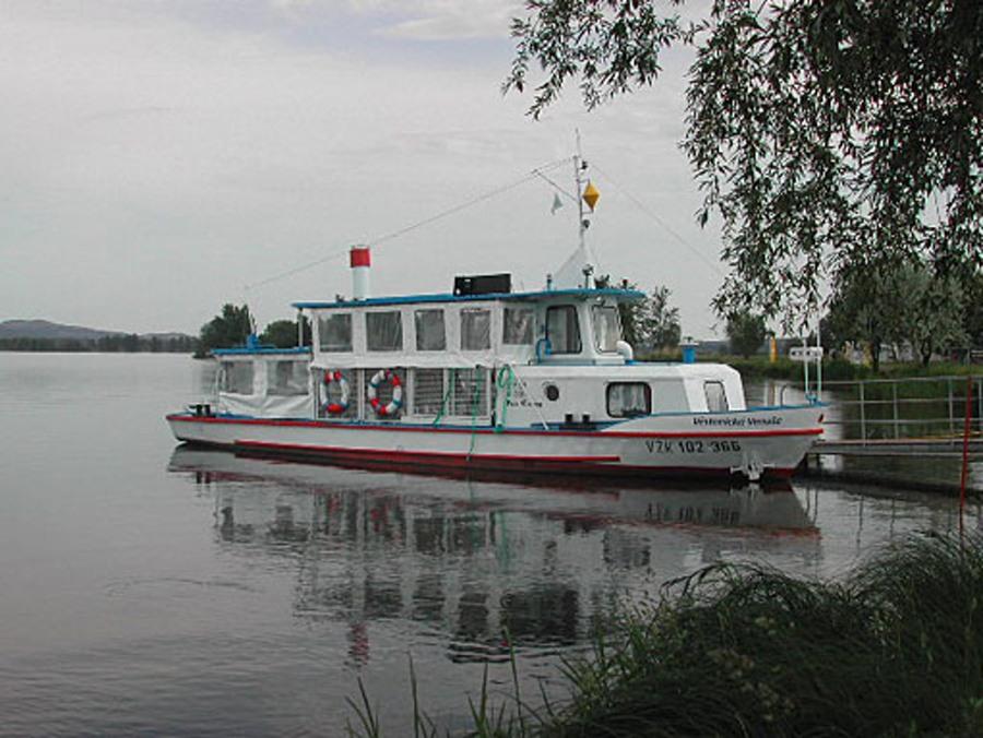 Loď na Pálavě