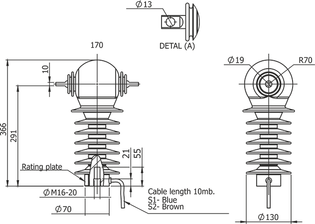 RPN Switch disconnectors with vacuum interrupters for the