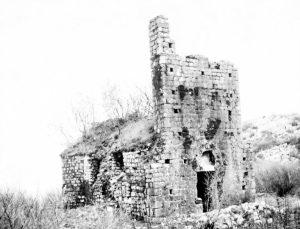 1 Manastir Beška - Crkva Svetog Đorđa, prije sanacije od strane Republičkog zavoda za zaštitu spomenika kulture sa Cerinja, 1966 godine