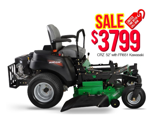 "Bob Cat 942605 CRZ 52"" with FR651 Kawasaki $3799"