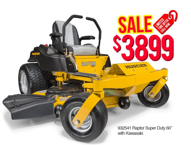 Hustler-932541-Raptor-Super-Duty-60-with-Kawasaki $3899