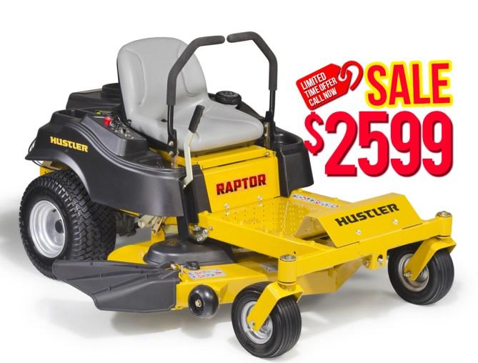 "Hustler Raptor 52"" $2599"