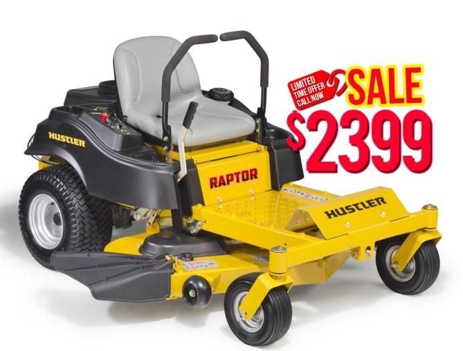 "Hustler Raptor 42"" $2399"