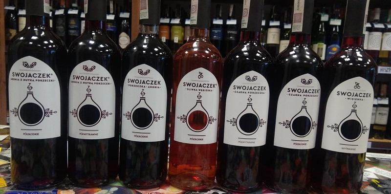 Polskie wino Swojaczek z Lubelszczyzny