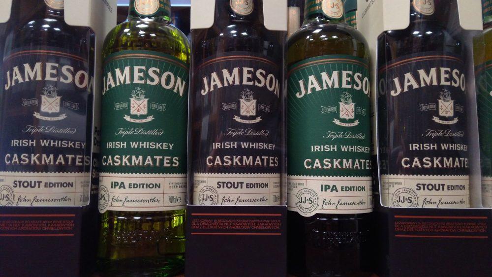 Przedstawiamy Jameson Caskmates IPA i Caskmates Stout!