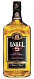 LABEL 5 BLENDED SCOTCH WHISKY CLASSIC BLACK 0,5 l