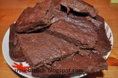 kakaowe brownies z avocado