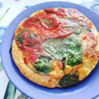 Fit omlet z szynką