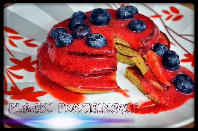 Placki proteinowe