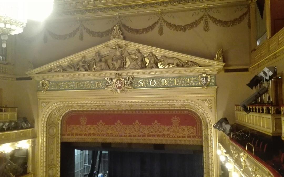 Návštěva Národního divadla
