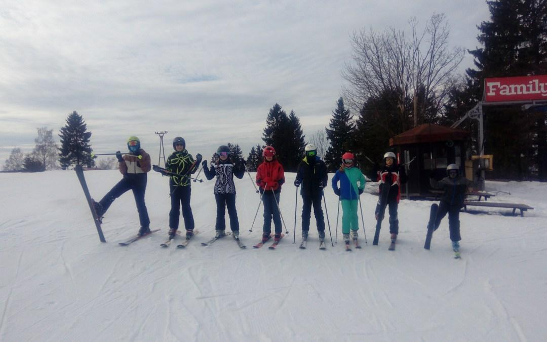 Vzpomínka na lyžařský kurz 7. A
