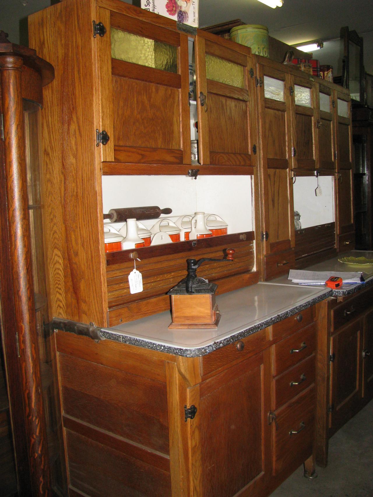 Cabinet Antique Parts Hoosier Replacement