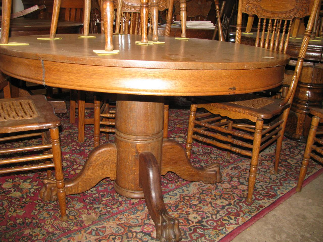 antique tiger oak dining room chairs big lots kitchen table and 100 images