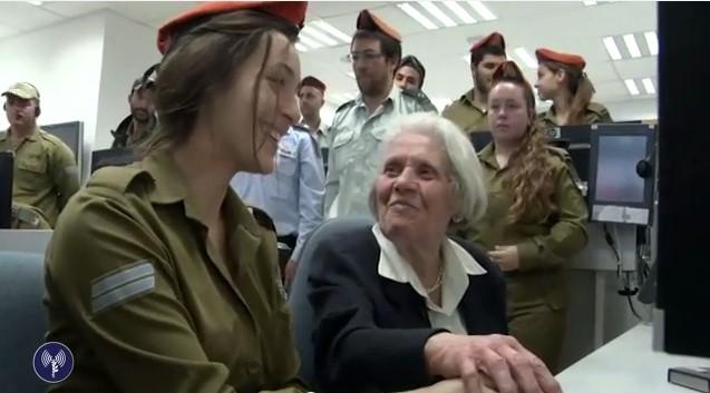 Holokauszt-túlélő aktiválta a szirénákat a megemlékezés napján