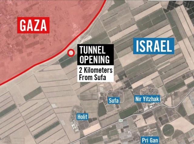 Iráni támogatással épülnek újra a terroristák alagútjai