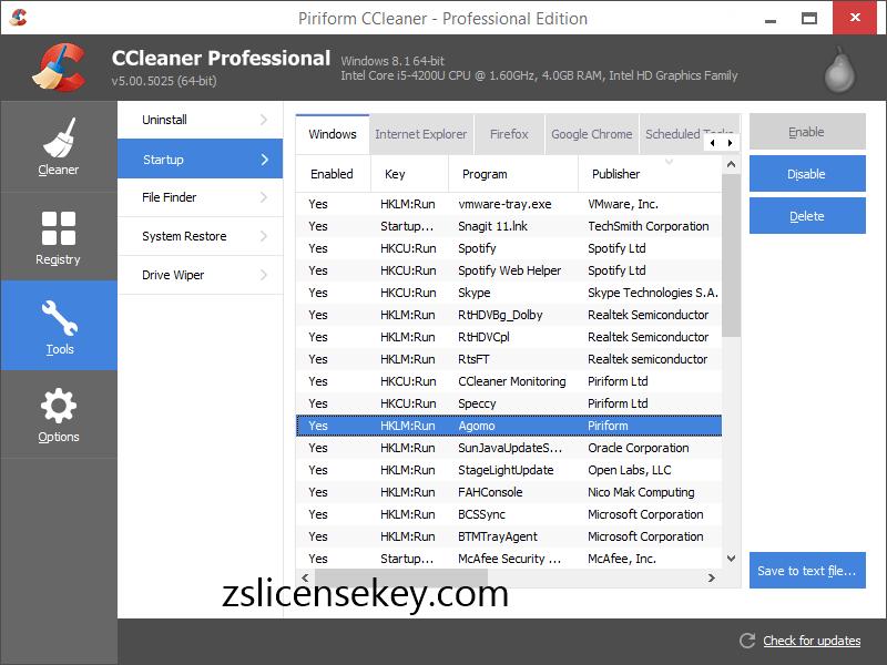 CCleaner Pro License Key