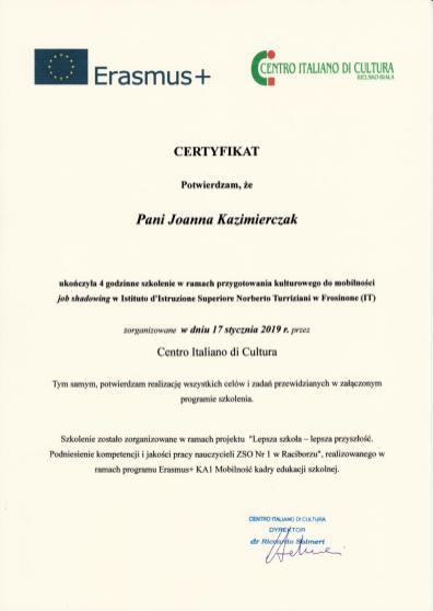 Certyfikat_Centro_italiano_2