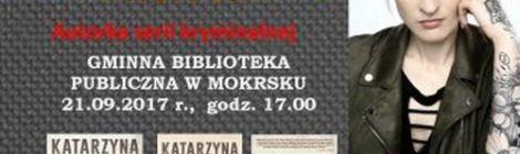Spotkanie autorskie - Katarzyna Puzyńska